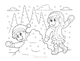 All the content of this site are free of charge and therefore we do not gain any financial benefit from the. 80 Best Winter Coloring Pages Free Printable Downloads