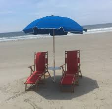 Beach umbrella and chair Low Wood And Canvas Lounge Chairs Clipart Library Beach Chairs Beach Umbrellas Oak Island Nc Sharons Linens