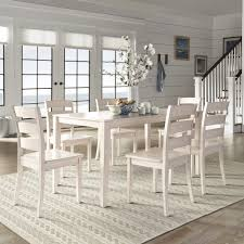 Wilmington II 60-Inch Rectangular Antique White Dining Set by iNSPIRE Q  Classic - Free