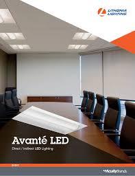 Lithonia Lighting Avante 2av 2x4