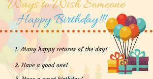 20 creative ways to say happy birthday