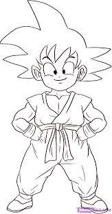 Small Picture dibujos para colorear de goku 2 Dragon Ball Pinterest