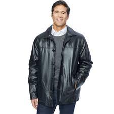 excelled men s lamb leather car coat