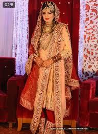 Pakistani Designer Khada Dupatta Khada Dupatta Red White Cream Bridal Outfits Nikkah Dress