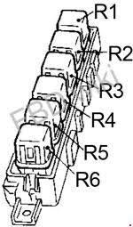90 & 39;94 nissan sentra (b13) fuse box diagram 1992 Nissan Sentra Fuse Box Nissan Fuse Cover