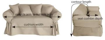 how to make furniture covers. Diagram Showing How To Measure Sofas Make Furniture Covers Y