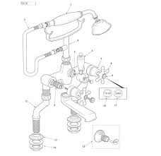 ideal standard kingston bath shower mixer rim mounted dm and kit bath and shower taps shower spares