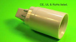4 Pin Light Bulb Converter G24 4 Pin Male To E27 Female Converter Adapter G24 Q Product Code 43568