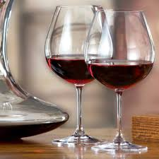 riedel vinum pinot noir burdy wine glasses set of 2 the kit