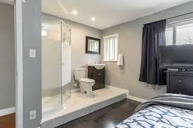 this open concept ensuite bathroom concept