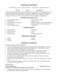 Resume Summary For Career Change Functional Samples Changers Example