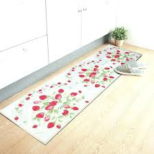 non skid rug runners door mat runner strawberry long kitchen rug runner carpet non slip fiber non skid rug