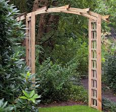 garden arch with planters j d williams archway fantasynetwork co