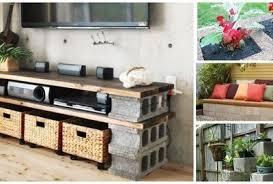 cinderblock furniture. Plain Furniture Cinder Block Furniture 1000x523 Cinder Block Furniture To Cinderblock
