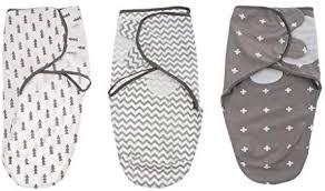 MagiDeal <b>3PCS Newborn</b> Cotton Swaddle Blanket <b>Infant</b> Sleeping ...