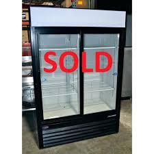 black frigidaire refrigerator side by used nor lake inch wide 2 door merchandiser