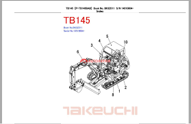 wiring diagram takeuchi tb 145 wiring image wiring takeuchi excavator tb145 bk3z010 parts manual auto repair manual on wiring diagram takeuchi tb 145