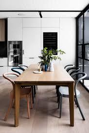 cool track lighting. Modern Dining Room Wood Floors Cool Track Lighting