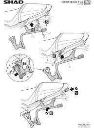 Shad 3p fitment kit honda cb650f shad5647 2 h0cf64ifhtm