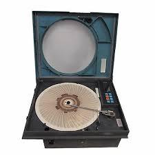 Honeywell Dr450t Truline Circular Chart Recorder Used
