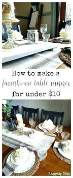 farmhouse tea towels table runner sharing how to make a farmhouse with tea towels for under