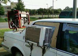 car air conditioning funny. home made in car air conditioning funny jokideo
