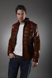 brown leather be happy designer tailor 2018 2017 new jacket men leather
