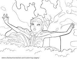 Disney S Frozen Olaf Coloring Page