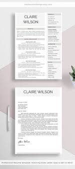 Stand Out Resume Templates Beauteous 48 Free Resume Templates SundayChapter Pinterest Template