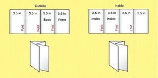 4 Panel Brochure Template 4 Fold Brochure Template Word Atlasapp Co