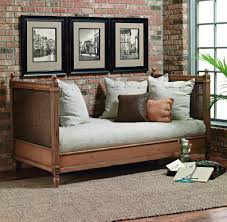 Old Biscayne Margeaux Wood Daybed with Cane Custom Furniture World