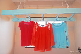 No more wet clothes hanging all over the house! Tame the mess with this easy