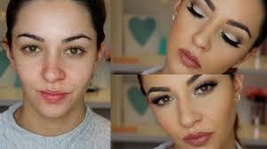 beginners cut crease makeup tutorial for hooded eye