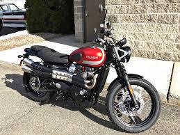 new 2018 triumph street scrambler motorcycles in enfield ct