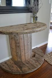 11 DIY spool table