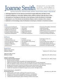 Instructional Design Resume Sample Instructional Design Portfolio Best Instructional Design