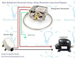 refrigerator fridge thermostat wiring diagram guide fridge thermostat wiring diagram