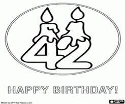 Kleurplaten Verjaardag Papa 42 Jaar Janknegtfineart