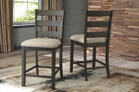 upholstered bar stools. Rokane - Brown Upholstered Barstool (2/CN) Bar Stools O