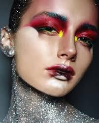 insram post by Журнал для визажистов mar 13 2017 at 3 42pm utc makeup inspoedgy makeuphigh fashion