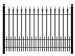 Wrought Iron Fence to Beautify Your House BeautiFauxCreationscom