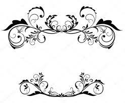 black vintage frame design. Black Vintage Frame \u2014 Stock Vector Design V