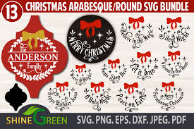 Grinch svg grinch face cut file for cricut and silhouette christmas svg grinch png diy christmas grinch shirt grinch iron on transfer. Christmas Bundle Ornaments Monogram Graphic By Shinegreenart Creative Fabrica
