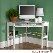 buy holly  martin alexander corner computer deskwhite at harvey