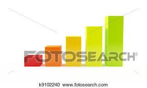 Bar Chart Clipart Colorful Bar Chart Clipart K9102240 Fotosearch