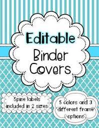 Teacher Binder Templates Ecfbcccb Teacher Binder Covers Printable Binder Covers Editable
