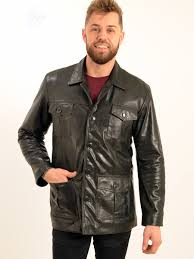 savvi men s black leather