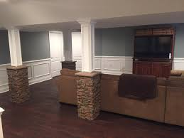 Decorative Interior Columns Super Stylish Basement Column Idea Creative Columns