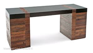 Image Home Office Sustainable Office Furniture Soft Modern Desk With File Drawers Ellorametalscom Modern Rustic Desk Contemporary Wood Office Desk Urban Desk