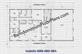 barndominium house plans. 50 ft wide 4 bedroom 3 bath barndominium floor plan - isabella house plans